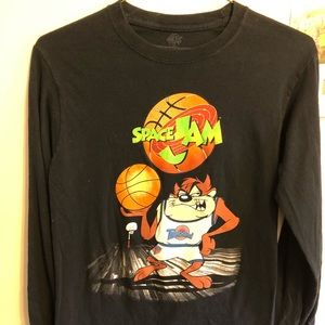 Other - SPACE JAM TAZ GET READY TO JAM LONG SLEEVE T SHIRT